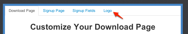 Customize Your Download Pages