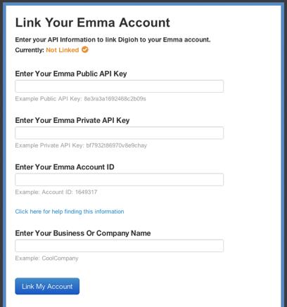 Emma API Credentials