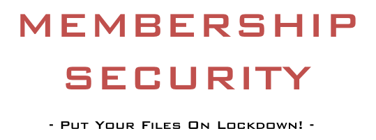 Membership Security Logo
