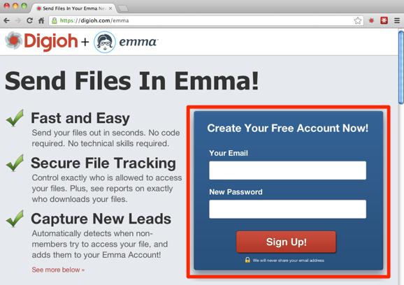 Send Files in Emma Newsletters