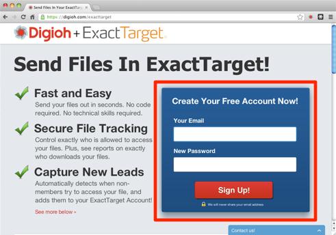 Start Sending Trackable Files in ExactTarget