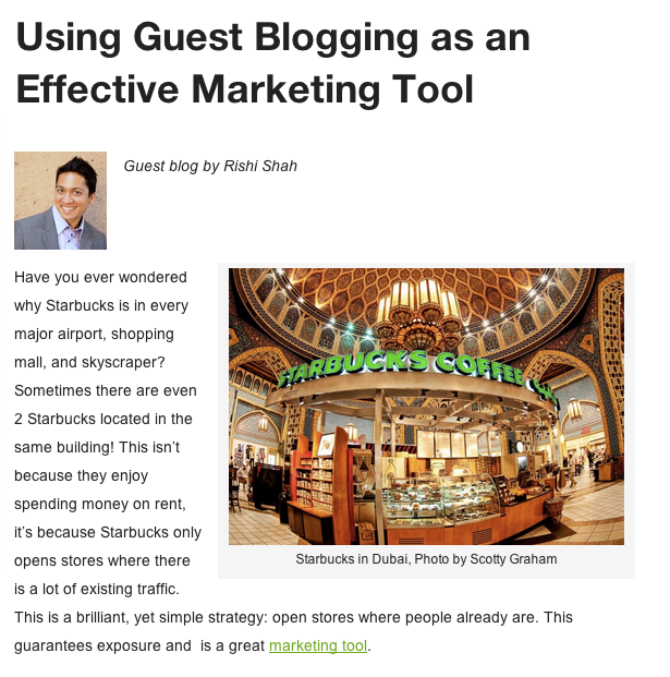 Using Guest Blogging as an Effective Marketing Tool - Big Ideas Blog